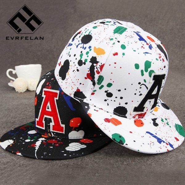 Wholesale Fashion Hip Hop Cap Graffiti Brand Snapback Cap Men Women Baseball Cap Snapback Hat Casquette Planas Gorras 2