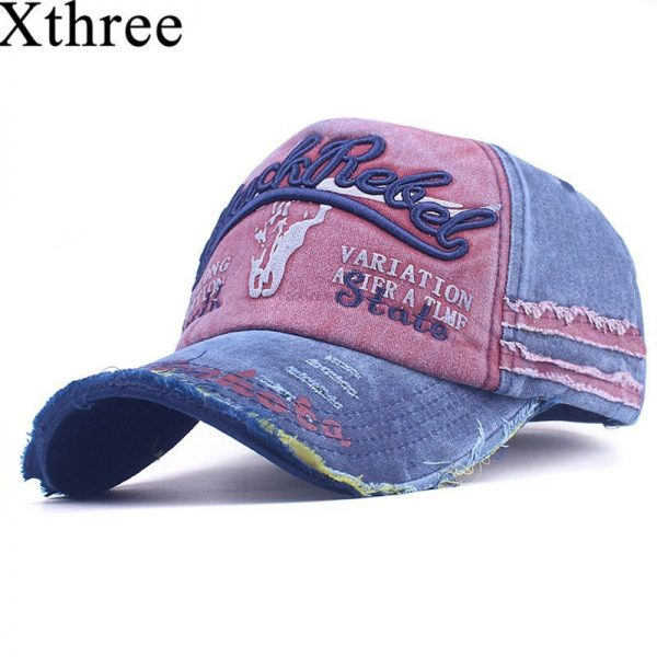 Xthree Men's Baseball Cap Women Snapback  Hats For Men  Bone Casquette Hip hop Brand Casual Gorras Adjustable Cotton Hat Caps 2