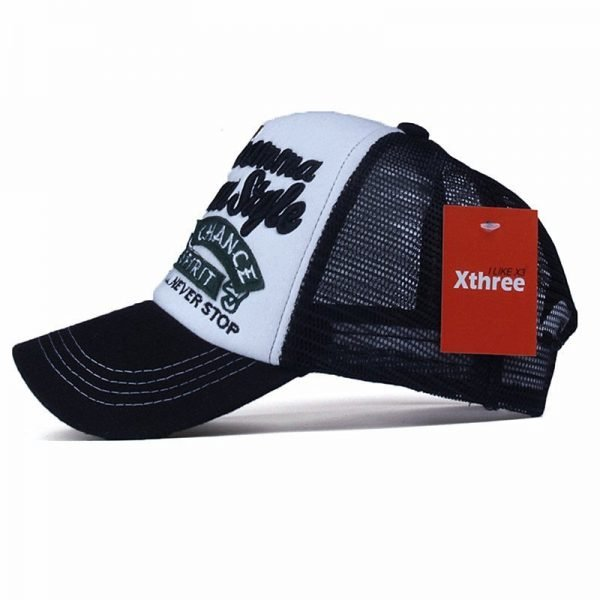 Xthree New 5 panels embroidery summer baseball cap casual mush cap men snapback hat for women casquette gorras 4