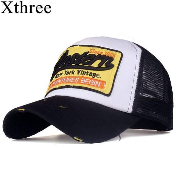 [Xthree]summer snapback hat baseball cap mesh cap cheap cap casquette bone hat for men women casual gorras 2