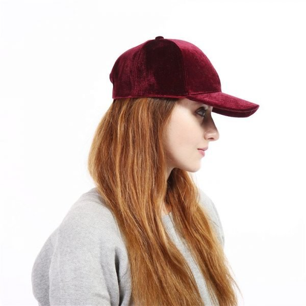 Xuyijun Baseball Caps with no embroidery strap Simple Suede back cap and hat for men and women's hat on white 6 colors 3