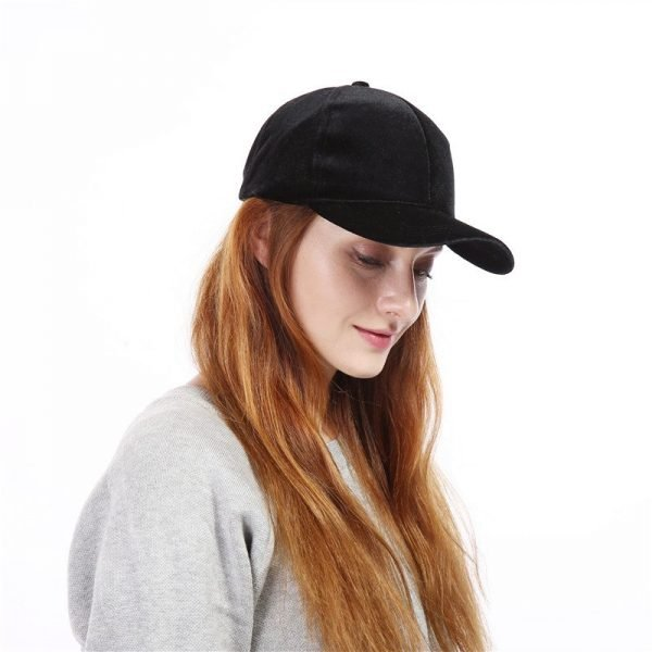 Xuyijun Baseball Caps with no embroidery strap Simple Suede back cap and hat for men and women's hat on white 6 colors 5