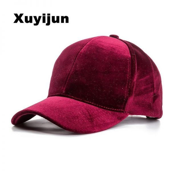 Xuyijun Baseball Caps with no embroidery strap Simple Suede back cap and hat for men and women's hat on white 6 colors 1