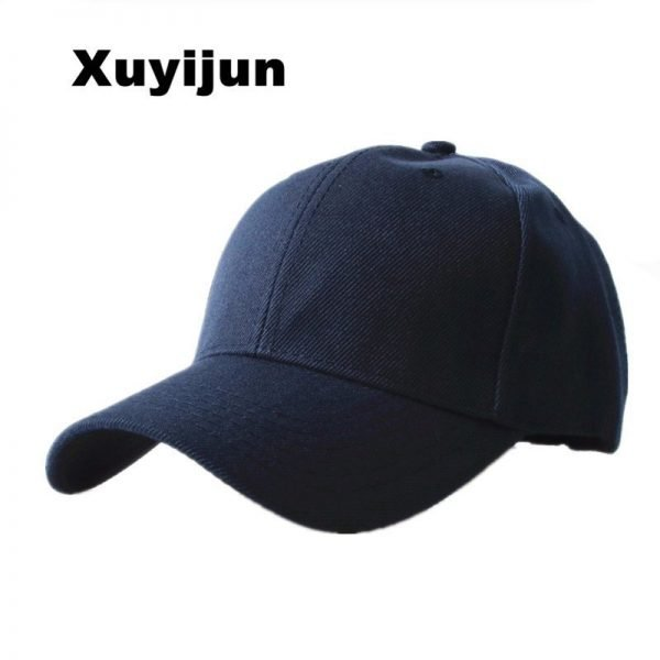 Xuyijun Durable New Masculino Snapback Casquette Gorras Blank Curved Solid Color Adjustable Baseball Cap Bone dad Caps 2