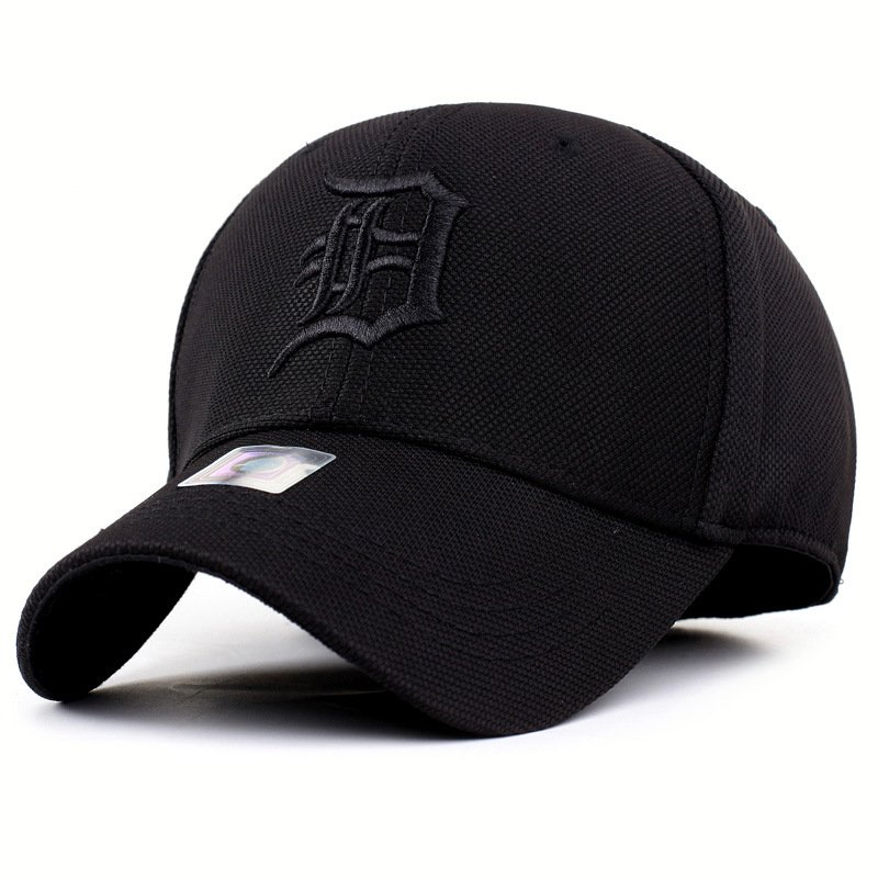 solid unisex black baseball cap men snapback hat  women cap flexfit fitted hat Closed  Male full cap  Gorras Bones trucker hat 3