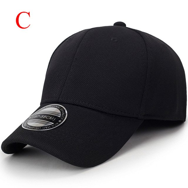 solid unisex black baseball cap men snapback hat  women cap flexfit fitted hat Closed  Male full cap  Gorras Bones trucker hat 27