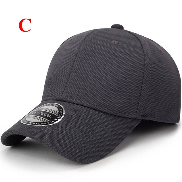 solid unisex black baseball cap men snapback hat  women cap flexfit fitted hat Closed  Male full cap  Gorras Bones trucker hat 31