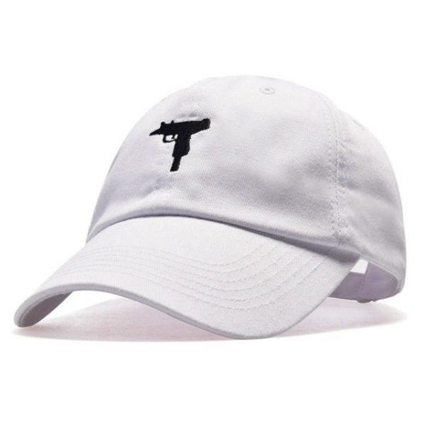 top selling Uzi Gun Baseball Cap US Fashion Ak47 Snapback Hip hop Cap  Curve visor 6 panel Hat casquette de marque 16