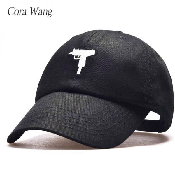 top selling Uzi Gun Baseball Cap US Fashion Ak47 Snapback Hip hop Cap  Curve visor 6 panel Hat casquette de marque 6