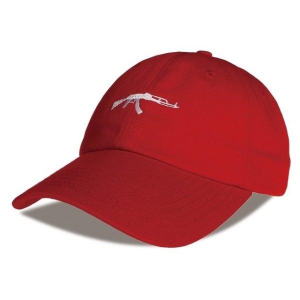 top selling Uzi Gun Baseball Cap US Fashion Ak47 Snapback Hip hop Cap  Curve visor 6 panel Hat casquette de marque 22