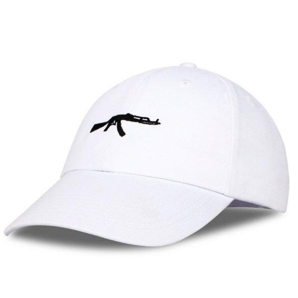 top selling Uzi Gun Baseball Cap US Fashion Ak47 Snapback Hip hop Cap  Curve visor 6 panel Hat casquette de marque 24