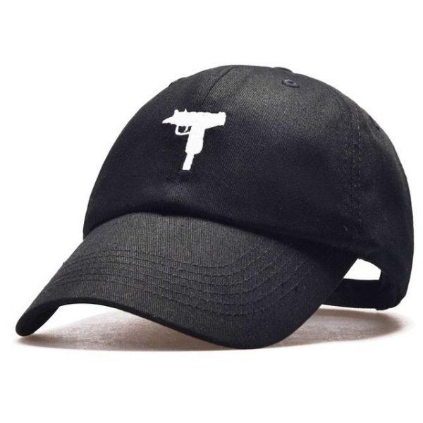 top selling Uzi Gun Baseball Cap US Fashion Ak47 Snapback Hip hop Cap  Curve visor 6 panel Hat casquette de marque 14