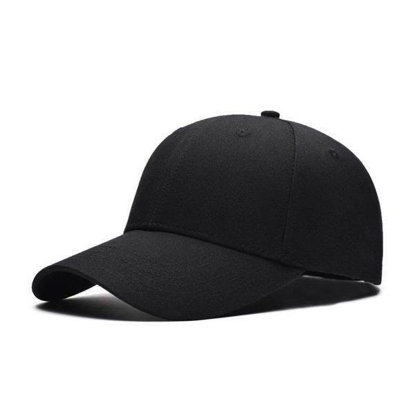 Fashion Women Men Summer Spring Cotton Adult baseball Cap Solid Color Adjustable Sport Duckbill Hat 4