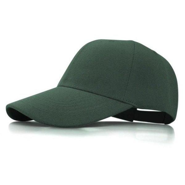 Fashion Women Men Summer Spring Cotton Adult baseball Cap Solid Color Adjustable Sport Duckbill Hat 18