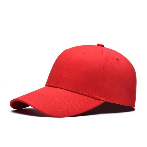 Fashion Women Men Summer Spring Cotton Adult baseball Cap Solid Color Adjustable Sport Duckbill Hat 10