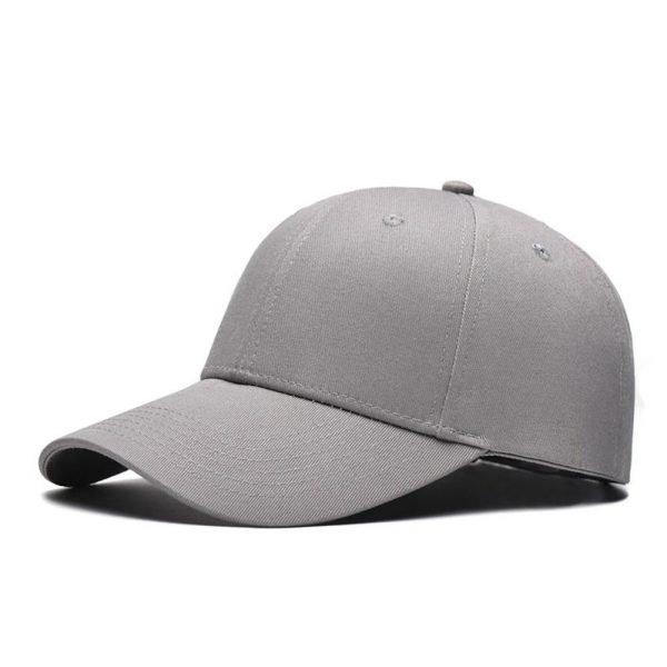 Fashion Women Men Summer Spring Cotton Adult baseball Cap Solid Color Adjustable Sport Duckbill Hat 12