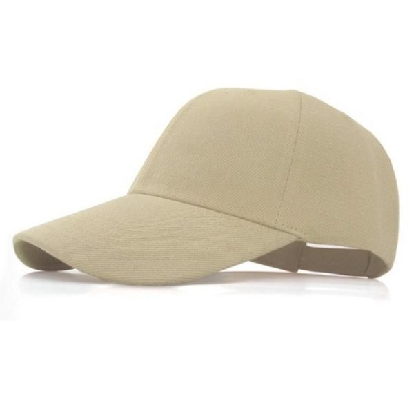 Fashion Women Men Summer Spring Cotton Adult baseball Cap Solid Color Adjustable Sport Duckbill Hat 28