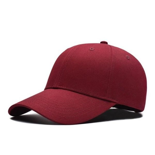 Fashion Women Men Summer Spring Cotton Adult baseball Cap Solid Color Adjustable Sport Duckbill Hat 30