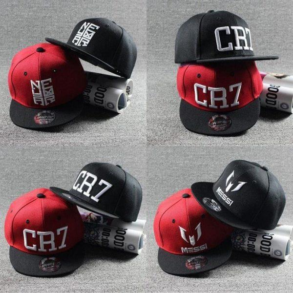 Fashion Children Ronaldo CR7 Neymar NJR Baseball Cap Hat Boys Girls Kids MESSI Snapback Hats Hip Hop Caps Gorras 2