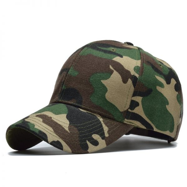 Snow Camo Baseball Cap Men Tactical Cap Camouflage Snapback Hat For Men High Quality Bone Masculino Dad Hat Trucker 4