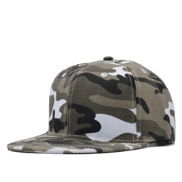 Snow Camo Baseball Cap Men Tactical Cap Camouflage Snapback Hat For Men High Quality Bone Masculino Dad Hat Trucker 17