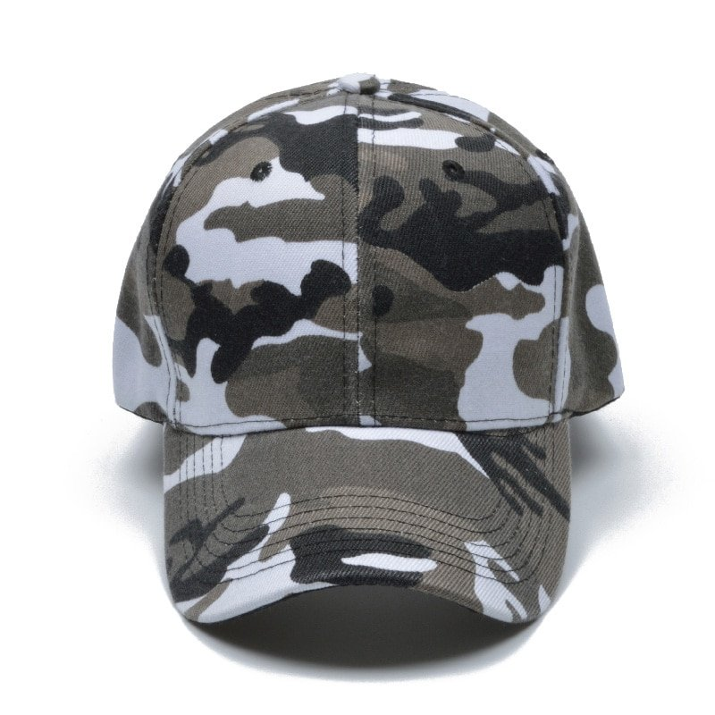 Snow Camo Baseball Cap Men Tactical Cap Camouflage Snapback Hat For Men High Quality Bone Masculino Dad Hat Trucker 9