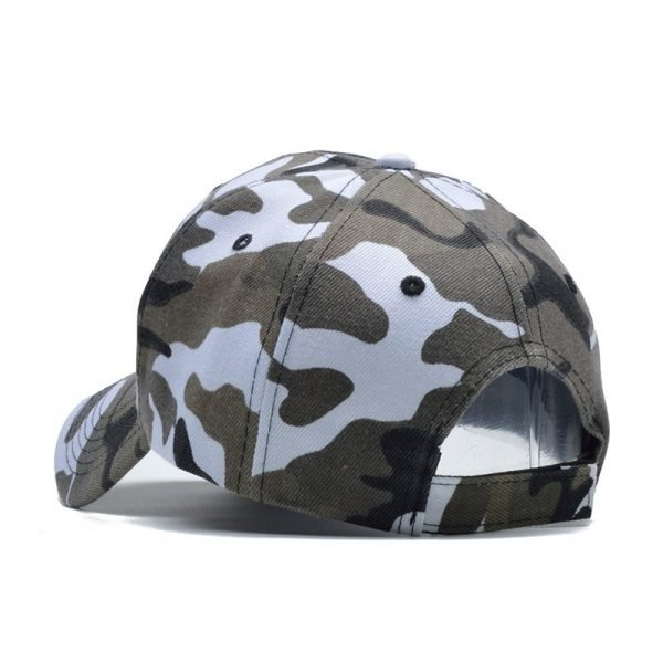 Snow Camo Baseball Cap Men Tactical Cap Camouflage Snapback Hat For Men High Quality Bone Masculino Dad Hat Trucker 12