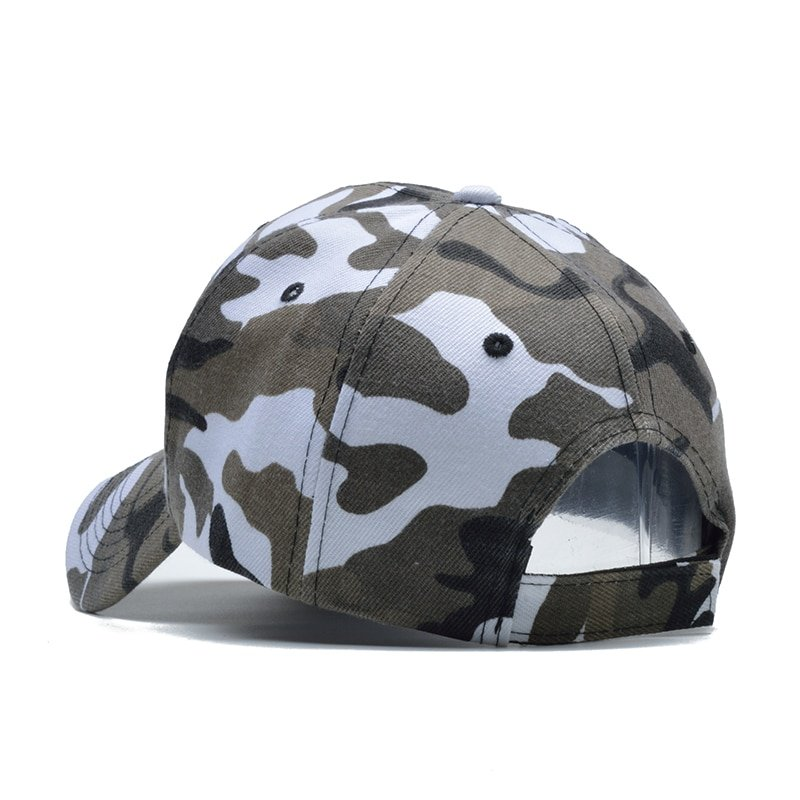 Snow Camo Baseball Cap Men Tactical Cap Camouflage Snapback Hat For Men High Quality Bone Masculino Dad Hat Trucker 11