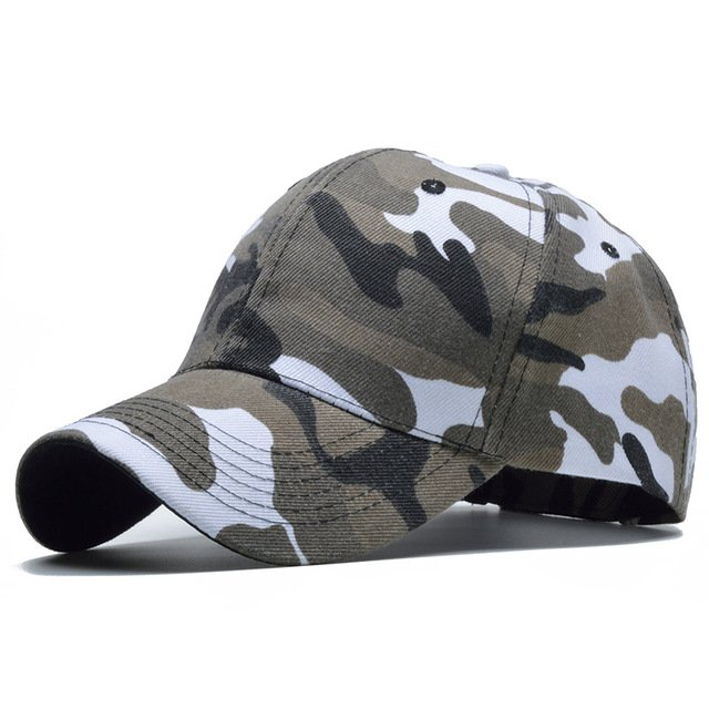 Snow Camo Baseball Cap Men Tactical Cap Camouflage Snapback Hat For Men High Quality Bone Masculino Dad Hat Trucker 13