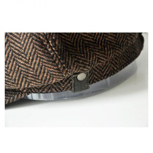 high quality newsboy caps for men and women hats gorras planas Octagonal cap Leisure and wool blend canned koala flat cap 12