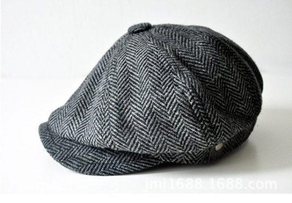 high quality newsboy caps for men and women hats gorras planas Octagonal cap Leisure and wool blend canned koala flat cap 14