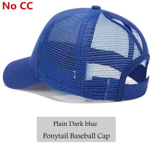2018 CC Glitter Ponytail Baseball Cap Women Snapback Hat Summer Messy Bun Mesh Hats Casual Adjustable Sport Caps Drop Shipping 76