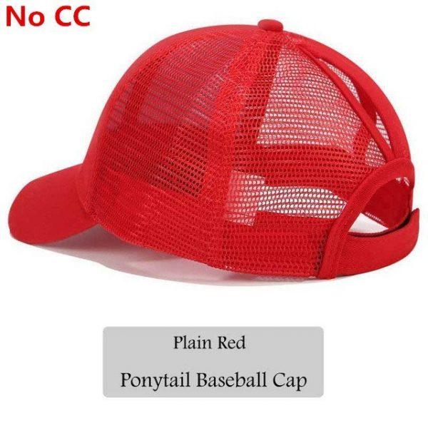 2018 CC Glitter Ponytail Baseball Cap Women Snapback Hat Summer Messy Bun Mesh Hats Casual Adjustable Sport Caps Drop Shipping 88