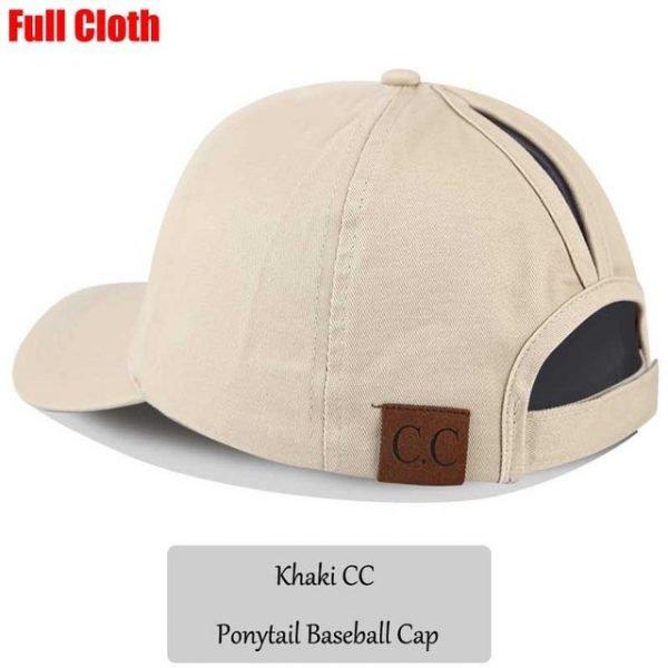 2018 CC Glitter Ponytail Baseball Cap Women Snapback Hat Summer Messy Bun Mesh Hats Casual Adjustable Sport Caps Drop Shipping 96