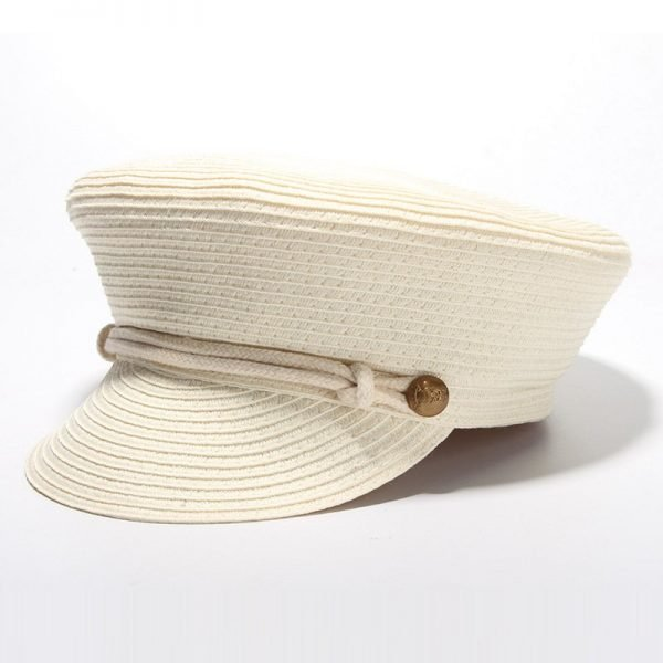 Cotton Yarn Solid Summer Hats For Women Newsboy Caps Fashion Elegant Ladies Beret Octagonal Cap Sunhat Gorras Female 4