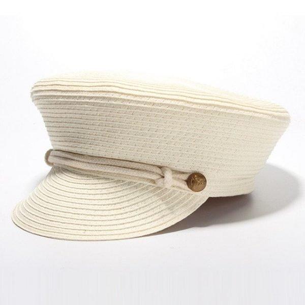 Cotton Yarn Solid Summer Hats For Women Newsboy Caps Fashion Elegant Ladies Beret Octagonal Cap Sunhat Gorras Female 16