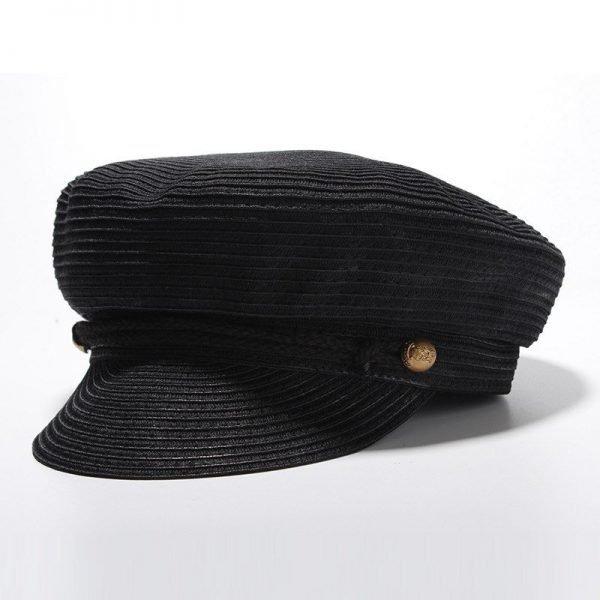 Cotton Yarn Solid Summer Hats For Women Newsboy Caps Fashion Elegant Ladies Beret Octagonal Cap Sunhat Gorras Female 6