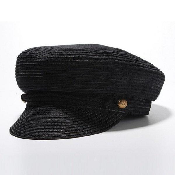 Cotton Yarn Solid Summer Hats For Women Newsboy Caps Fashion Elegant Ladies Beret Octagonal Cap Sunhat Gorras Female 18