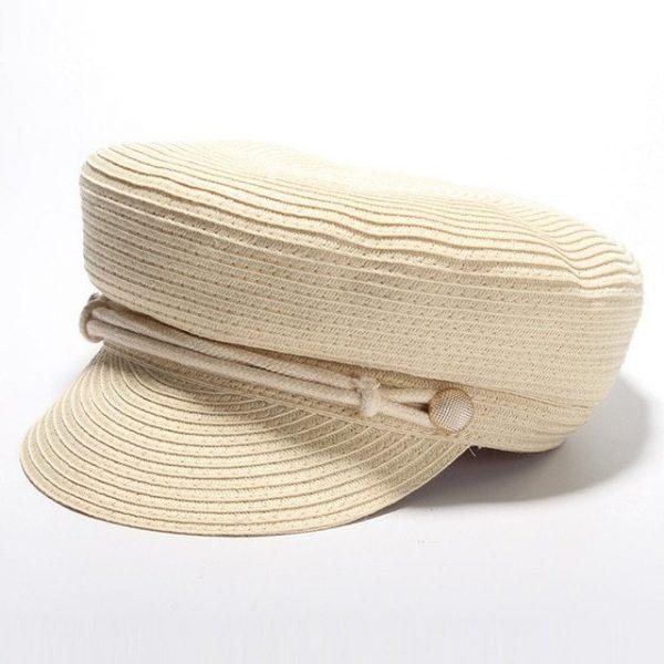 Cotton Yarn Solid Summer Hats For Women Newsboy Caps Fashion Elegant Ladies Beret Octagonal Cap Sunhat Gorras Female 14
