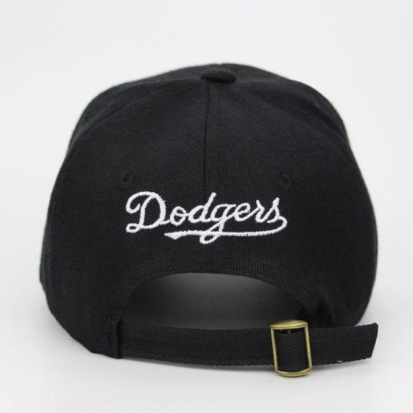 New letter Baseball Caps LA Dodgers Embroidery Hip Hop bone Snapback Hats for Men Women Adjustable Gorras Casquette Unisex 6