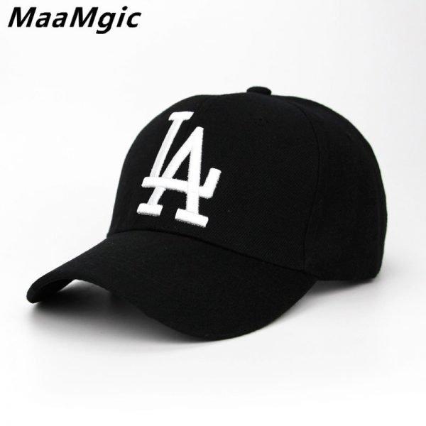 New letter Baseball Caps LA Dodgers Embroidery Hip Hop bone Snapback Hats for Men Women Adjustable Gorras Casquette Unisex 2