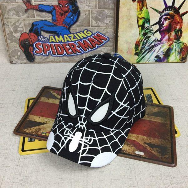 Spiderman Cartoon Children Embroidery Cotton Baseball Cap kids Boy Girl Hip Hop Hat Spiderman cosplay hat 8
