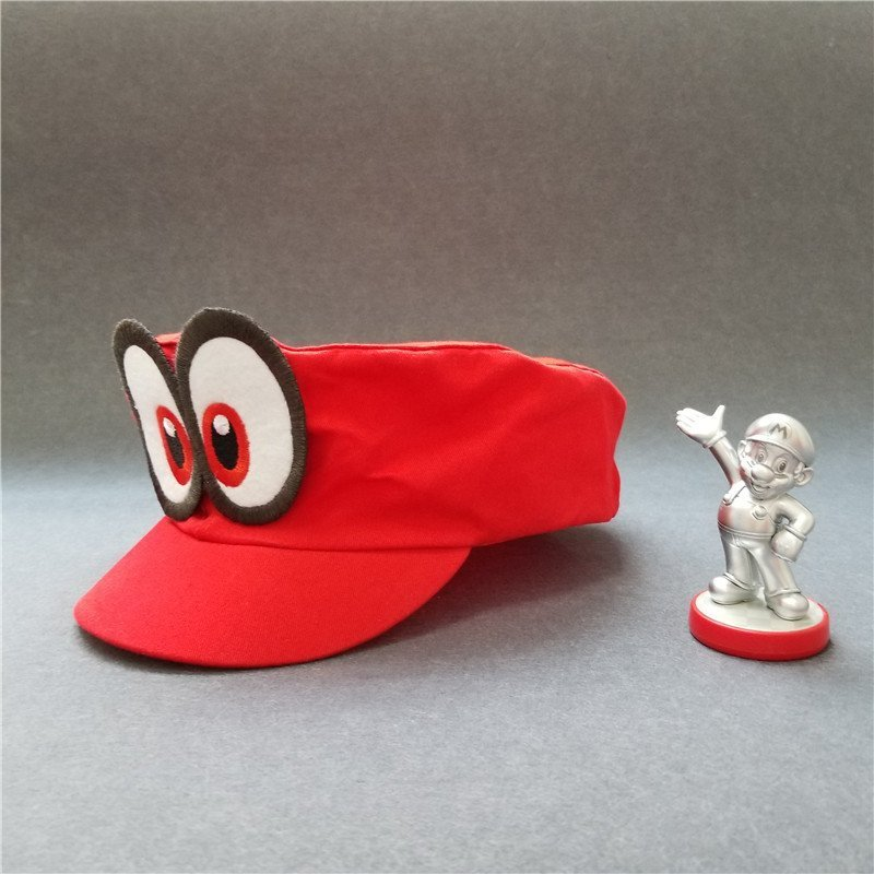 Hot NS Game Super Mario Odyssey COSPALY Hat Adult Child Anime Roleplay Cap 3