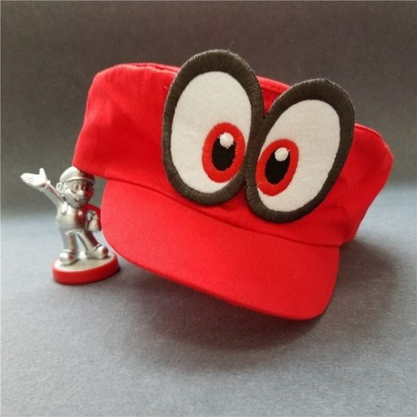 Hot NS Game Super Mario Odyssey COSPALY Hat Adult Child Anime Roleplay Cap 6