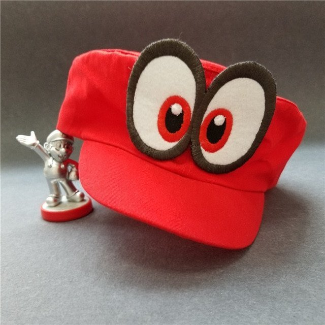 Hot NS Game Super Mario Odyssey COSPALY Hat Adult Child Anime Roleplay Cap 5