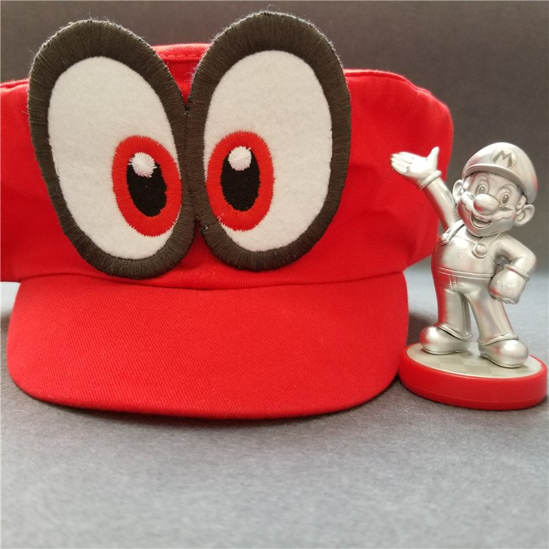 Hot NS Game Super Mario Odyssey COSPALY Hat Adult Child Anime Roleplay Cap 7