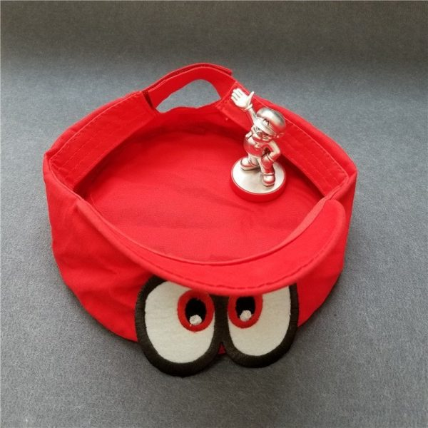 Hot NS Game Super Mario Odyssey COSPALY Hat Adult Child Anime Roleplay Cap 12