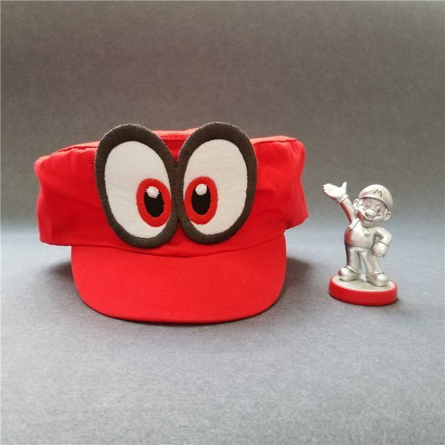 Hot NS Game Super Mario Odyssey COSPALY Hat Adult Child Anime Roleplay Cap 13