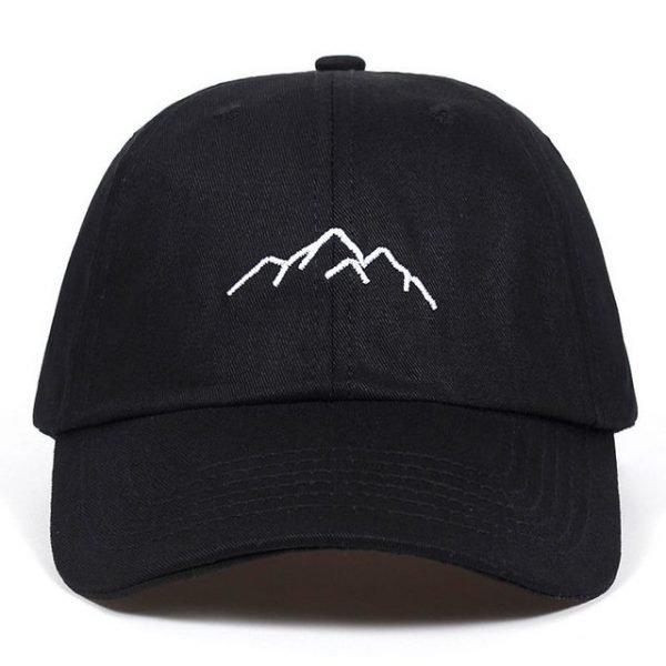 2021 new Mountain range embroidery Mens Womens Baseball Caps Adjustable Snapback Caps Fashion dad Hats Bone Garros 1