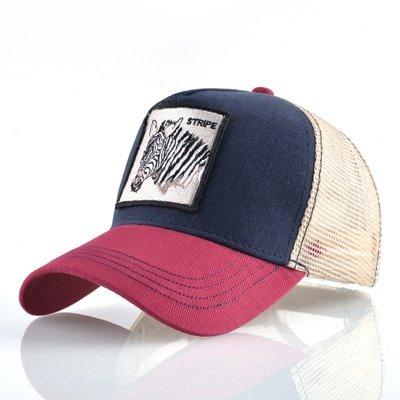 8 Kinds of embroidery animal Baseball Caps men Breathable Mesh Snapback caps Unisex sun hat for women bone Casquette Hip Hop cap 36